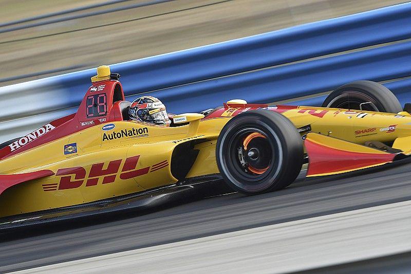 Hunter-Reay mène les essais de Sebring mais reste inquiet