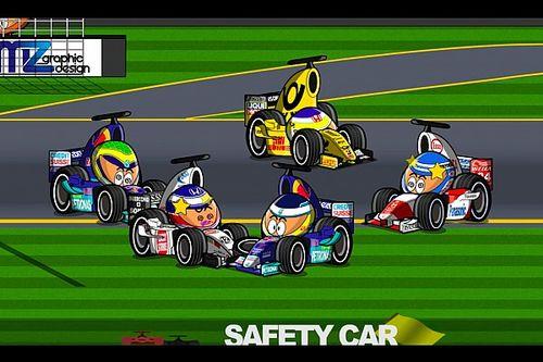 Vídeo: el accidentado GP de Australia 2002 de F1, por MiniDrivers