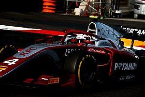 F2 Monako: Senggolan dengan Norris, De Vries tercepat di latihan