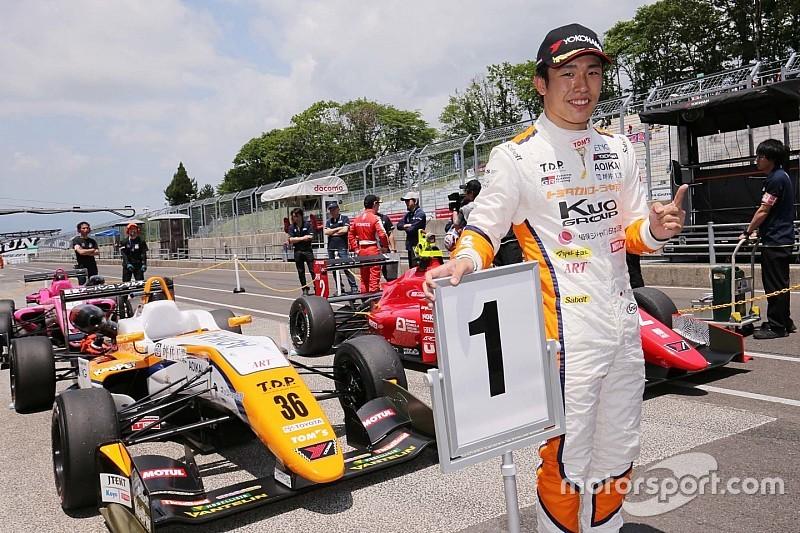 全日本F3第4戦も坪井翔が独走、開幕4連勝を飾る