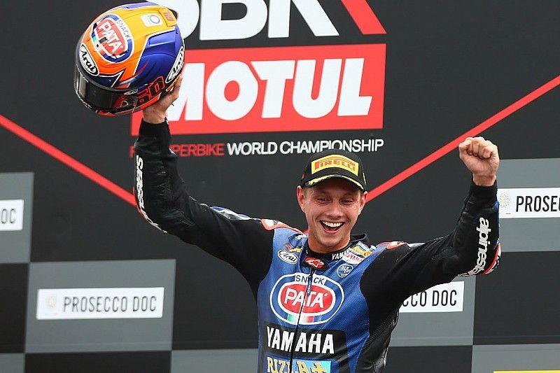 Van der Mark verlengt WSBK-contract bij Yamaha met een jaar