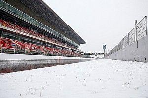 Por causa da neve, 3º dia de teste pode não acontecer
