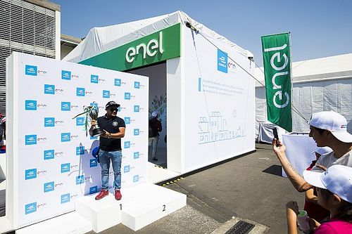 La Formula E ha rinnovato la partnership con ENEL