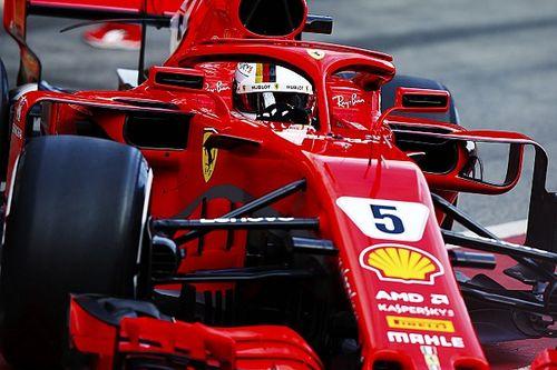 """Vettel: """"La SF71H è un passo avanti. Per ora tutto funziona bene"""""""