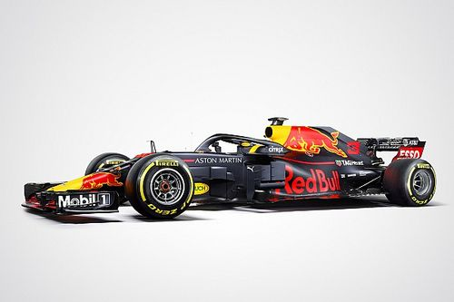 レッドブル、新車RB14の正式カラーリング発表。マットカラーを継続