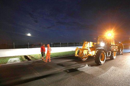 Silverstone kerja keras perbaiki sistem drainase
