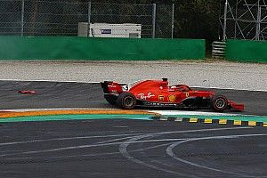 Vettel says Hamilton left no room in first-lap clash