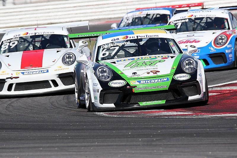 Carrera Cup Italia, uno... Tsunami a Misano