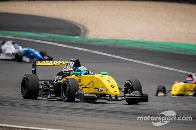 FR2.0 Eurocup Nürburgring: Fewtrell leidt 1-2-3-4 voor R-ace GP