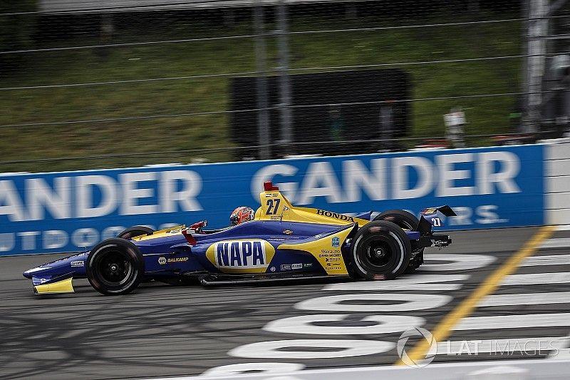 IndyCar Pocono: Rossi hält Power in Schach - Wickens im Krankenhaus