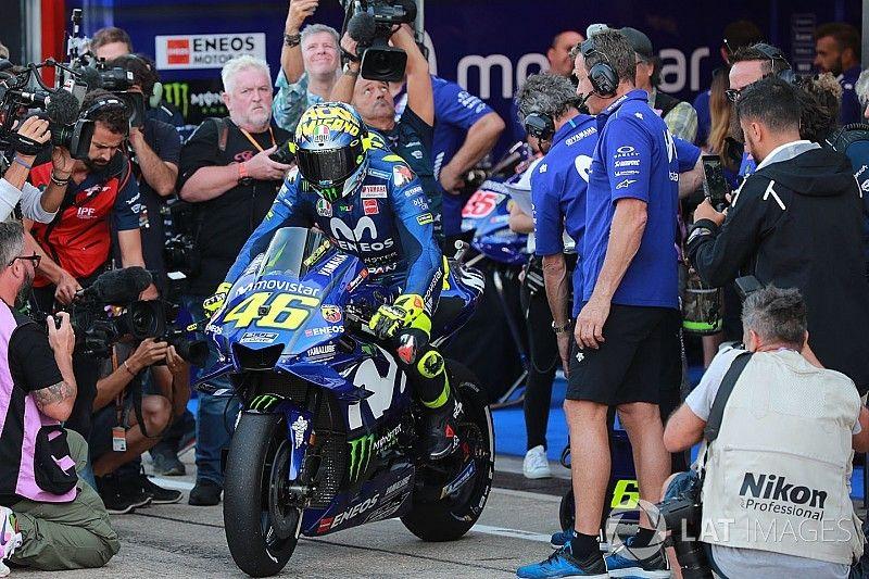 """Rossi: """"Necesito dos décimas para luchar por el podio"""""""