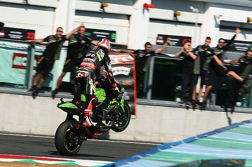 Course 1 - Et Rea entra un peu plus dans l'Histoire du Superbike