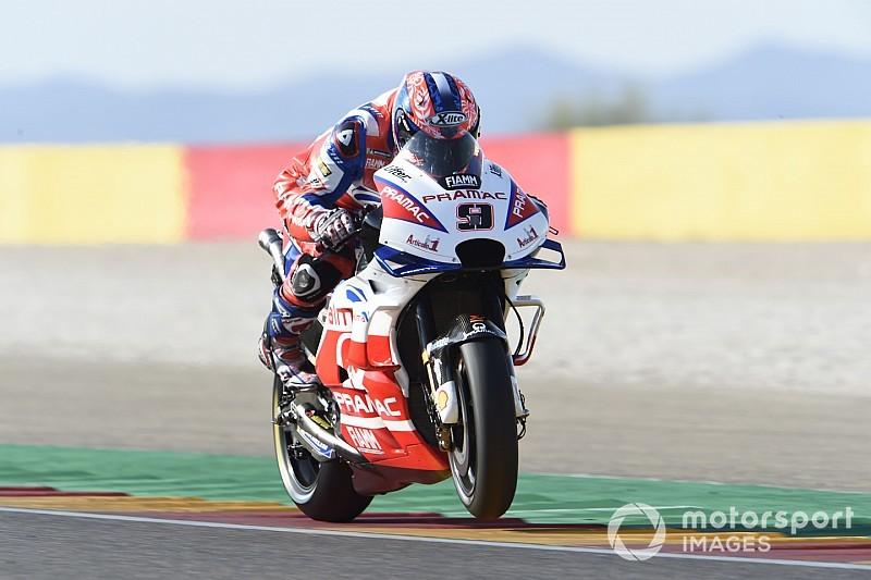 """Petrucci gap to works Ducatis """"70% style, 30% weight"""""""