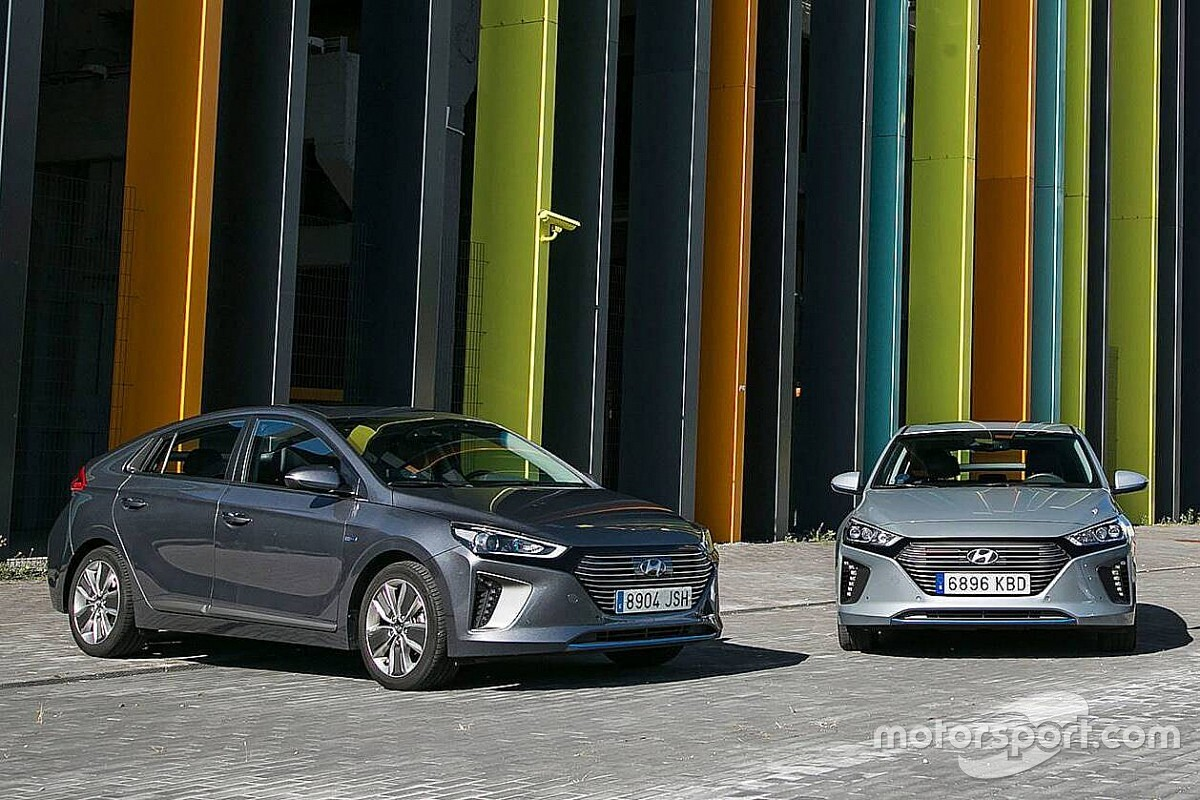 Prueba: la gama Hyundai IONIQ 2018