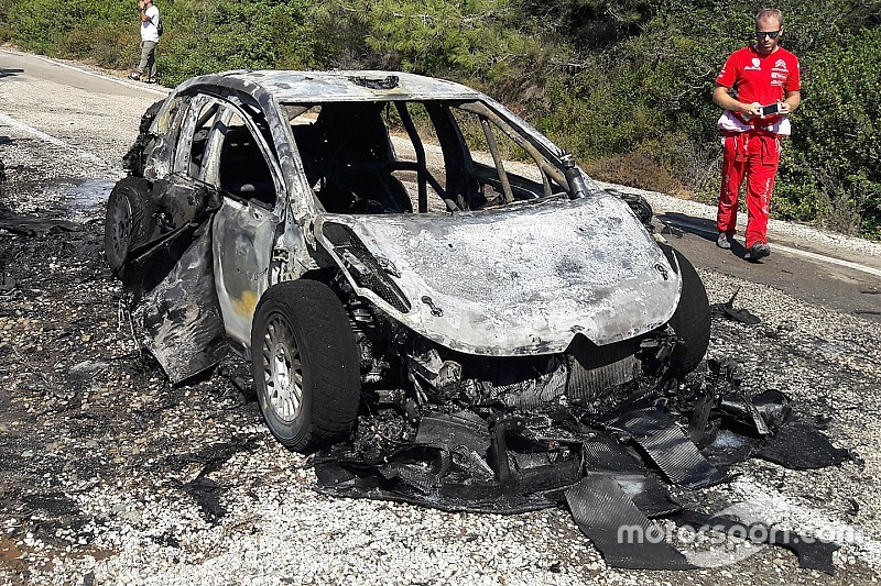 "Breen describes ""heartbreaking"" Citroen fire in Turkey"
