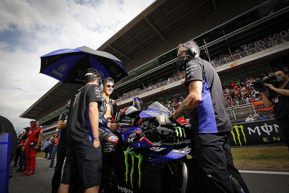 """MotoGP: Investigação mostra que macacão de Quartararo estava em """"estado normal de funcionamento"""" no GP da Catalunha"""
