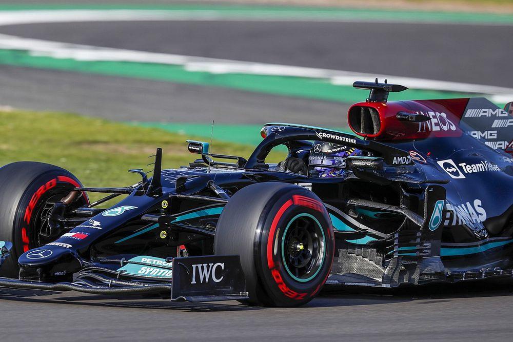 """Hamilton, sprint yarışına """"tüm gücüyle"""" hazır"""