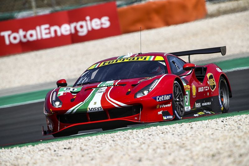 """Calado """"quite surprised"""" to beat Porsche in Portimao"""