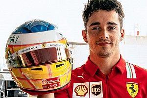 Leclerc keert terug naar allereerste helmontwerp voor Franse GP