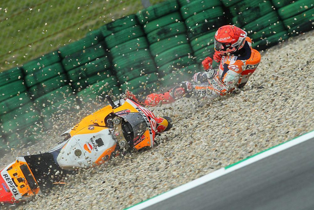 """MotoGP: Marquez """"batida do TL2 me afetou bastante no sábado"""""""