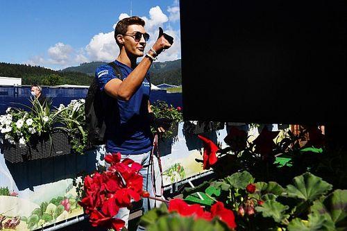 Russell megelőzött egy Ferrarit és egy McLarent, pontokat akar a futamon