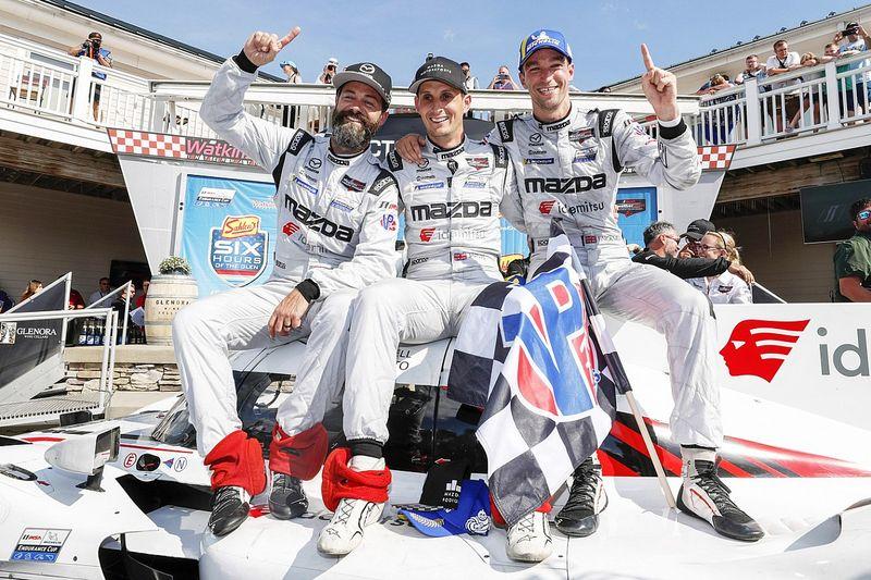 Mazda gana las 6 Horas de Watkins Glen 2021