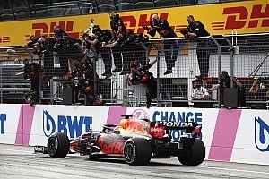 Red Bull advertido por la FIA por su festejo en Estiria
