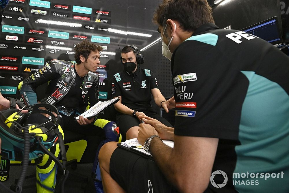 """Rossi feels """"genuine support"""" from his SRT MotoGP team"""