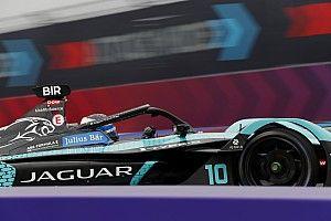 New York E-Prix: Bird pole pozisyonunda, Jaguar 1-2