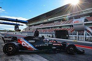 «Словно и не было перерыва». Квят рассказал о тестах Alpine F1