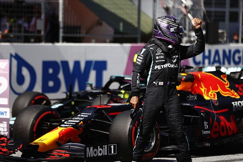 Hamilton désemparé face au rythme de Verstappen