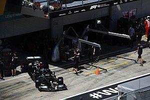 """Hamilton: """"Red Bull'u geçmek için yeterli tempoya hıza değiliz"""""""