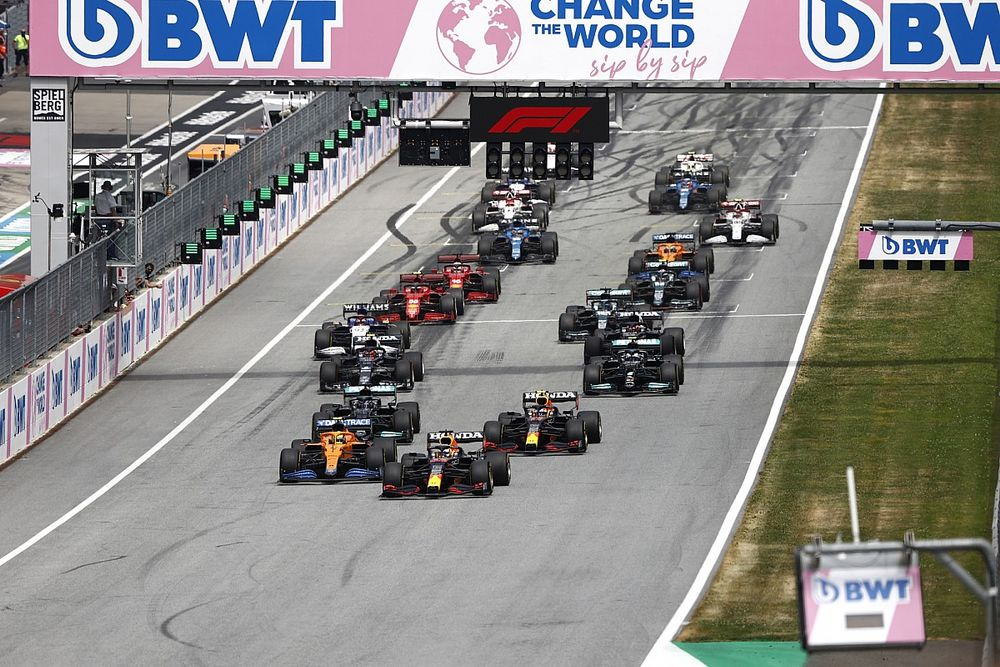 Grand Prix Austrii: Okrążenie po okrążeniu - animacja