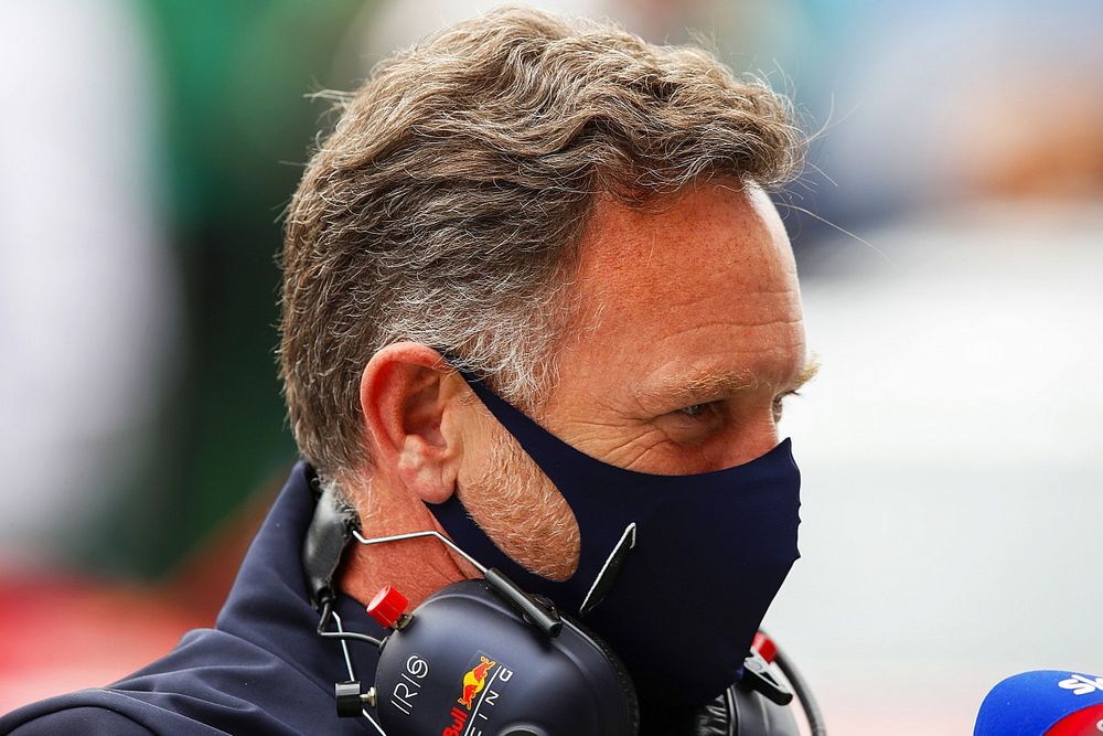 """Horner: """"Mercedes'in elinde biraz daha zaman olduğunu düşünüyorduk"""""""