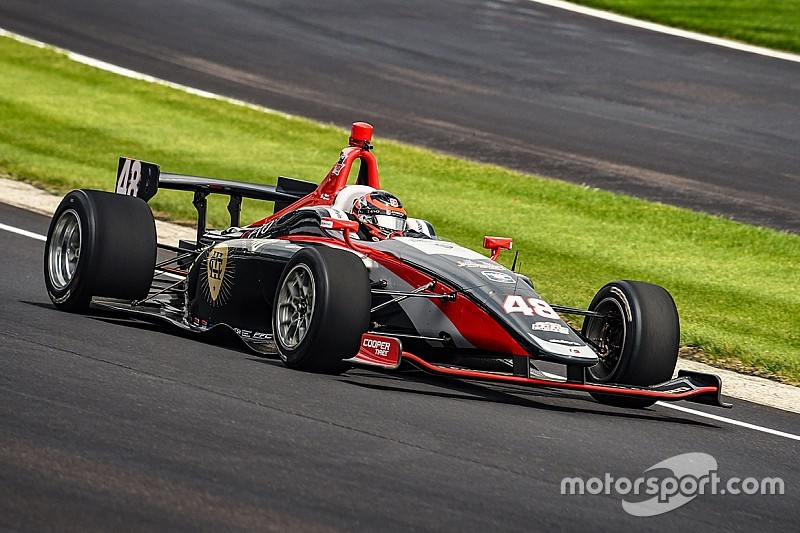 Indy Lights winner Norman to test Andretti Autosport IndyCar