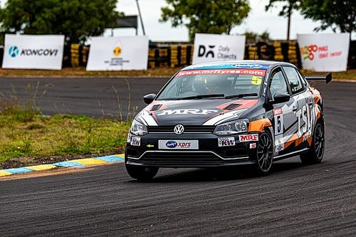 Volkswagen Ameo: Jhabakh wins season opener from pole