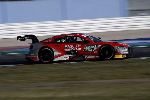 DTM, Assen, Libere 1: Loic Duval guida il tris Audi
