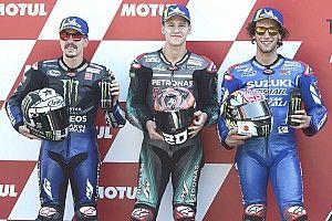 La parrilla de salida del GP de Holanda de MotoGP