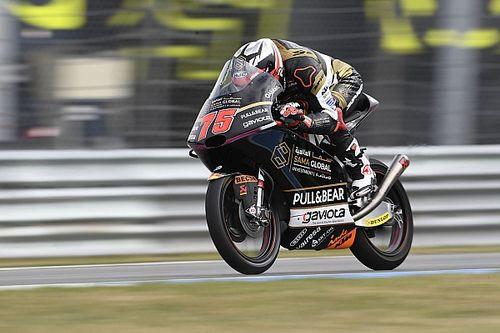 Moto3, Silverstone, Libere 2: Arenas beffa Dalla Porta