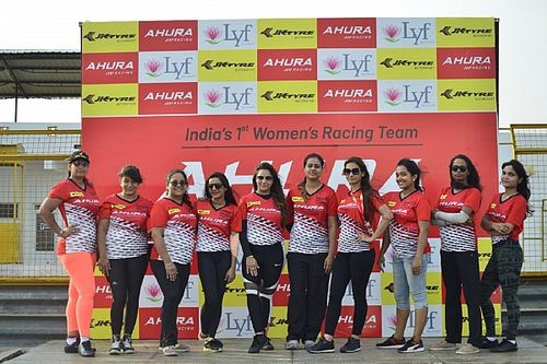 Six female drivers selected for JK Tyre National Championship