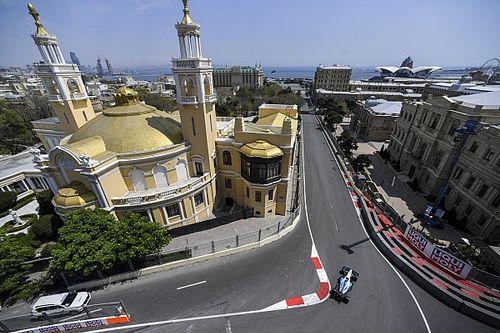 【F1動画】F1第4戦アゼルバイジャンGPフリー走行1回目ハイライト