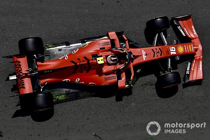 F1: Leclerc mostra reação da Ferrari e faz melhor tempo do dia em Baku