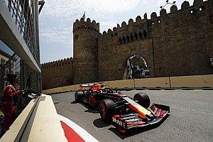 Verstappen maakt zich geen zorgen over verschil op vrijdag Baku