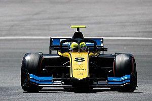 Silverstone F2: Ghiotto, Latifi'nin önünde lider