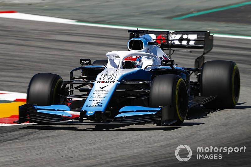 Russell et Kubica ont inversé leurs châssis à Barcelone