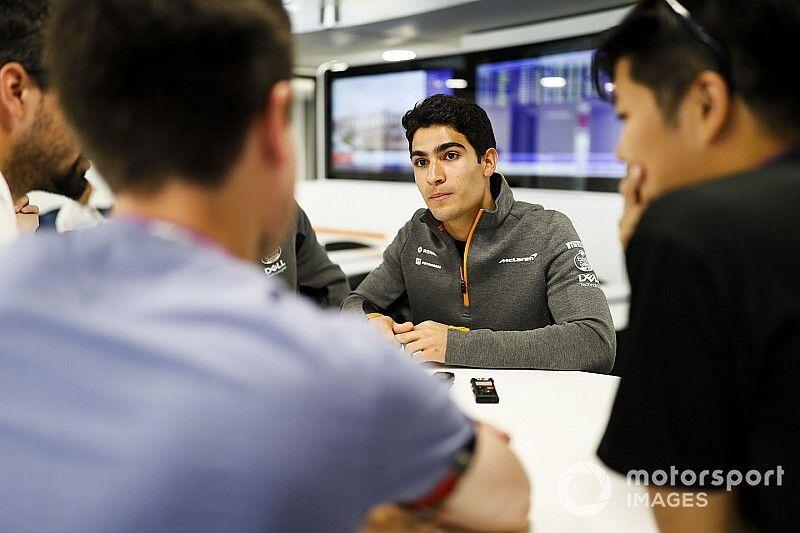 F1: Sette Câmara anuncia que não é mais piloto de testes da McLaren