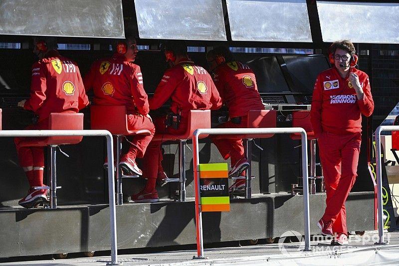 Binotto hace cambios en la estructura de Ferrari