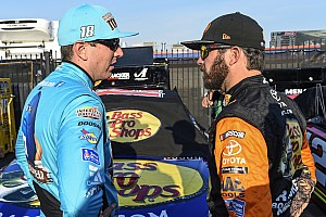"Joe Gibbs was ""sweating"" over Truex/Busch as teammates"