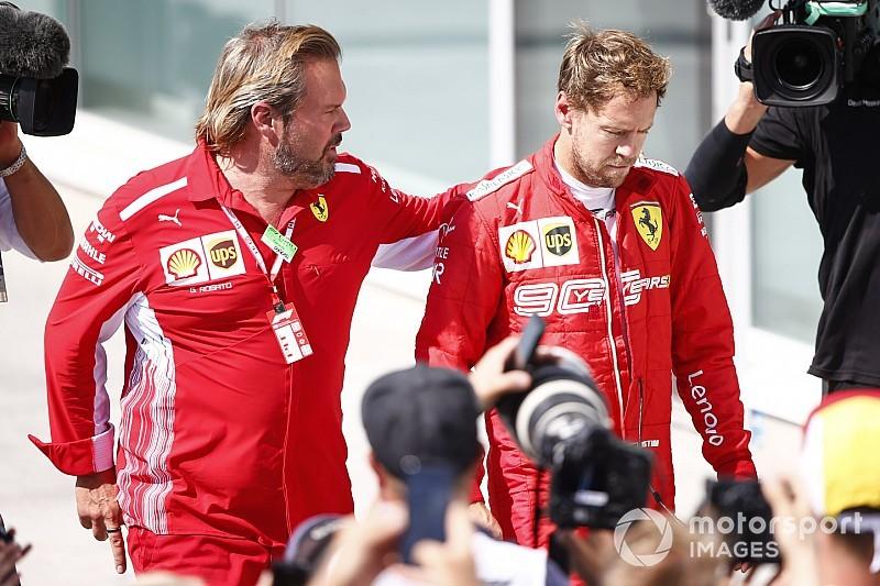 """Vettel spiega perché è tornato sul podio: """"E' una questione di rispetto"""""""