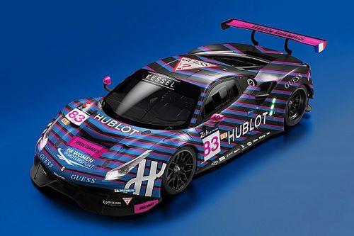 Kessel Racing e il suo equipaggio femminile si uniscono a GUESS e Hublot per la 24 Ore di Le Mans
